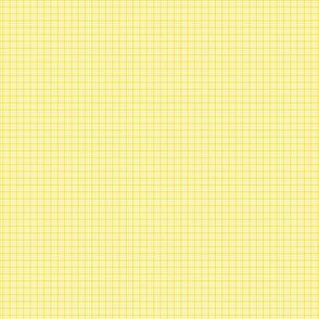 plaid yellow :: fruity fun