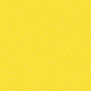 triangle confetti yellow :: fruity fun