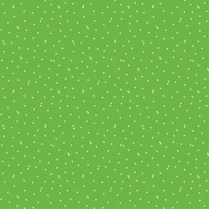 triangle confetti green :: fruity fun