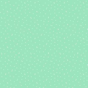 triangle confetti mint green :: fruity fun