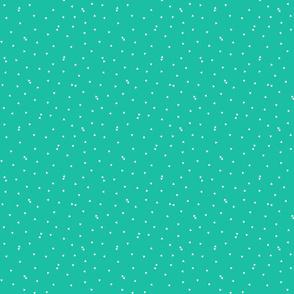triangle confetti teal :: fruity fun