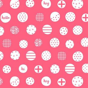 hello hi hey pink :: fruity fun bigger