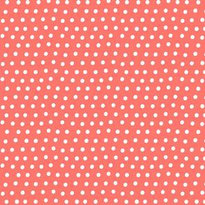 dots coral :: fruity fun bigger
