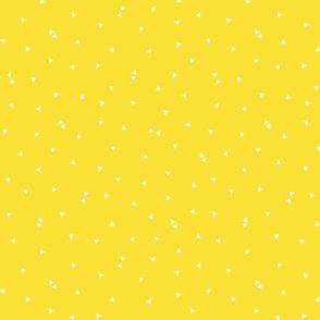 triangle confetti yellow :: fruity fun bigger