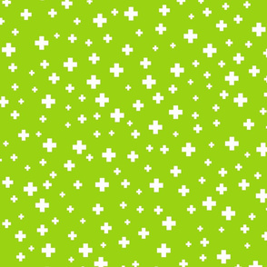positive plus lime green :: fruity fun bigger