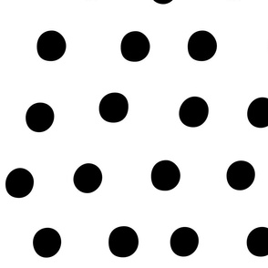 dots black white :: fruity fun huge