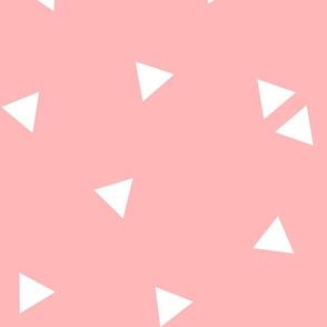 triangle confetti light pink :: fruity fun huge