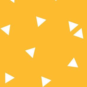 triangle confetti orange :: fruity fun huge