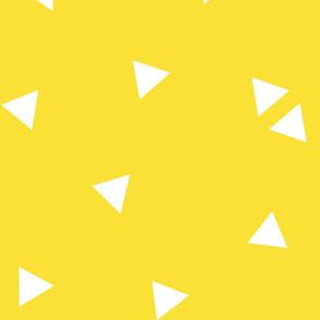 triangle confetti yellow :: fruity fun huge