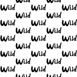 Wild in Black and WHite