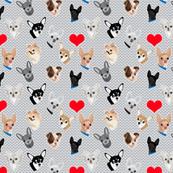 Chihuahua's and Hearts