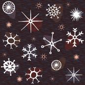 Snow Retro (dark)