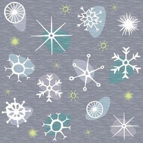 Snow Retro (silver)