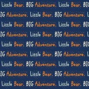 Bear camp// Little Bear Big Adventure