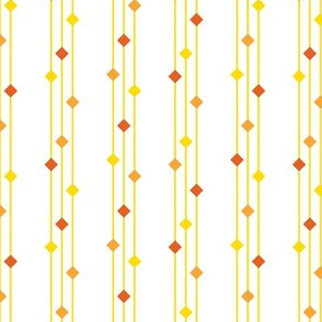 Diamond stripe-Orange