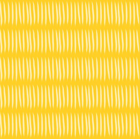 yellow tiger stripes on mustard
