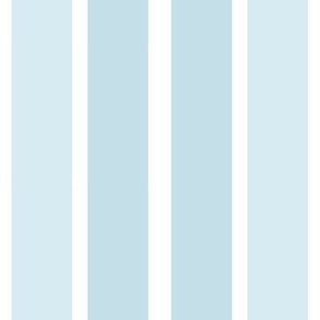 Pastel Blue Stripes