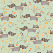 Happy Raccoons