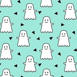 halloween ghost ghosties kids girls sweet halloween emoji cute halloween mint