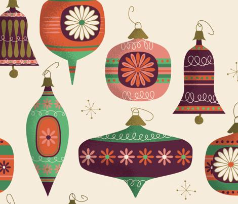 Retro Christmas Balls and Bells