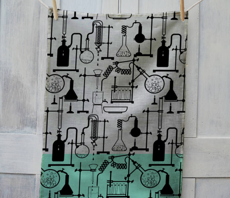 Kitchen Chemistry Tea Towel