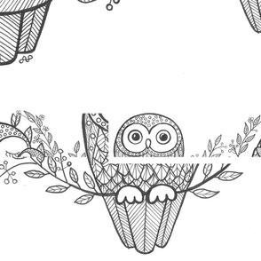 Lilac Blue Owls