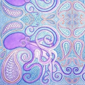 octopus paisley