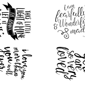 MINKY layout - typography sampler