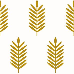 Wheat Fields / Large Mustard