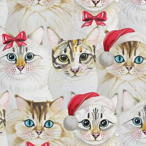 Cats_Vintage_Christmas