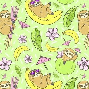 Tropical Sloths
