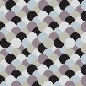 Uneven Circles-Greys