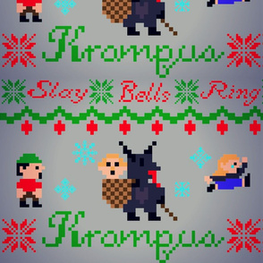 Krampus is coming to town Ugly Sweater