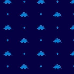 Stegosaurus Coordinate - Blue