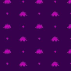 Stegosaurus Coordinate - Purple