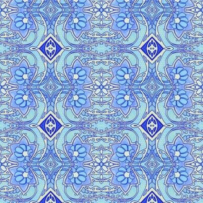 Curly Swirly Blues