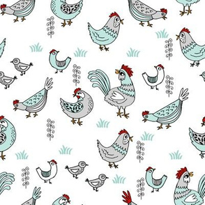 chickens // mint and grey farm birds chickens sweet backyard homestead pets