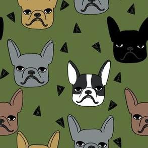frenchie // french bulldog dog breed fabric dog dogs cute dog fabric dog design