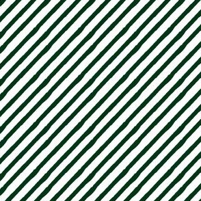 forest green || candy stripes