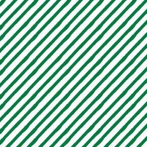 kelly green || candy stripe