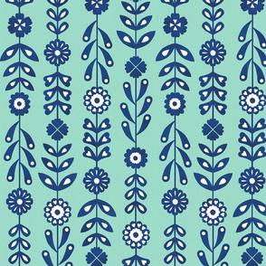 Leaf Lines - Mint