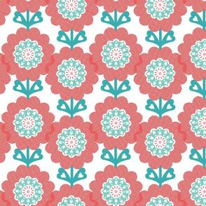 Sunny Flowers - Pomegranate