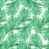 tiny palms tropical palm print summer tropic exotic summer green trendy palms