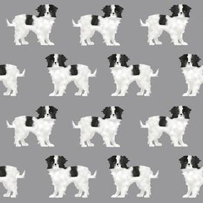 japanese chin dog grey japanese pet pets dog dog fabric