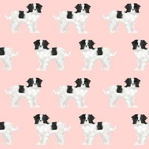 japanese chin dog pink baby kids fabric dog dog pets pet dog fabric