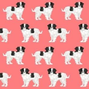 japanese chin salmon japanese dog dog fabric dog breed fabric