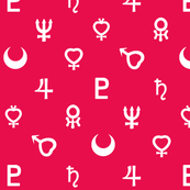 Scout Symbols Repeatsies in Pink