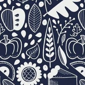 Autumn - navy