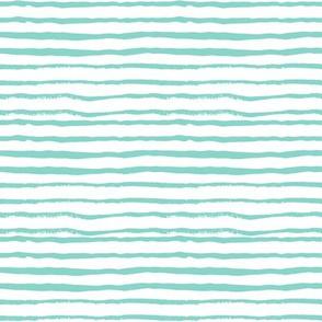 hand painted stripes mint stripe girls coordinate stripes paint watercolor stripes