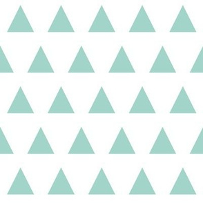 triangles mint simple triangle coordinate triangle fabric mint triangles